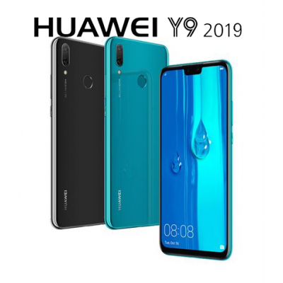 Huawei Y9 (2019) 64GB ราคาโทรศัพท์หัวเหว่ย ขายมือถือราคาถูก ราคาปกติ 6,990-.