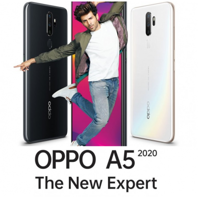 OPPO A5 (2020) 64GB สมาร์ทโฟนออปโป้ สินค้าใหม่ ราคาปกติ 4,990-.