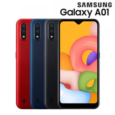 SAMSUNG GALAXY A01 สมาร์ทโฟนซัมซุง ราคามือถือซัมซุง สินค้าใหม่ ราคาปกติ 3,490-.
