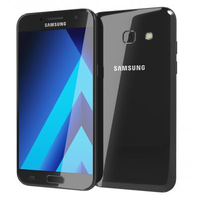 Samsung Galaxy A7 2017 Black  ราคาซัมซุง A7  ร้านมือถือมาบุญครอง